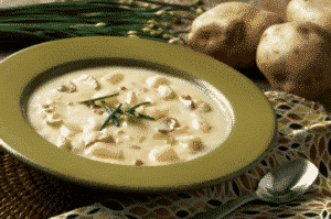 vegan german potato soup