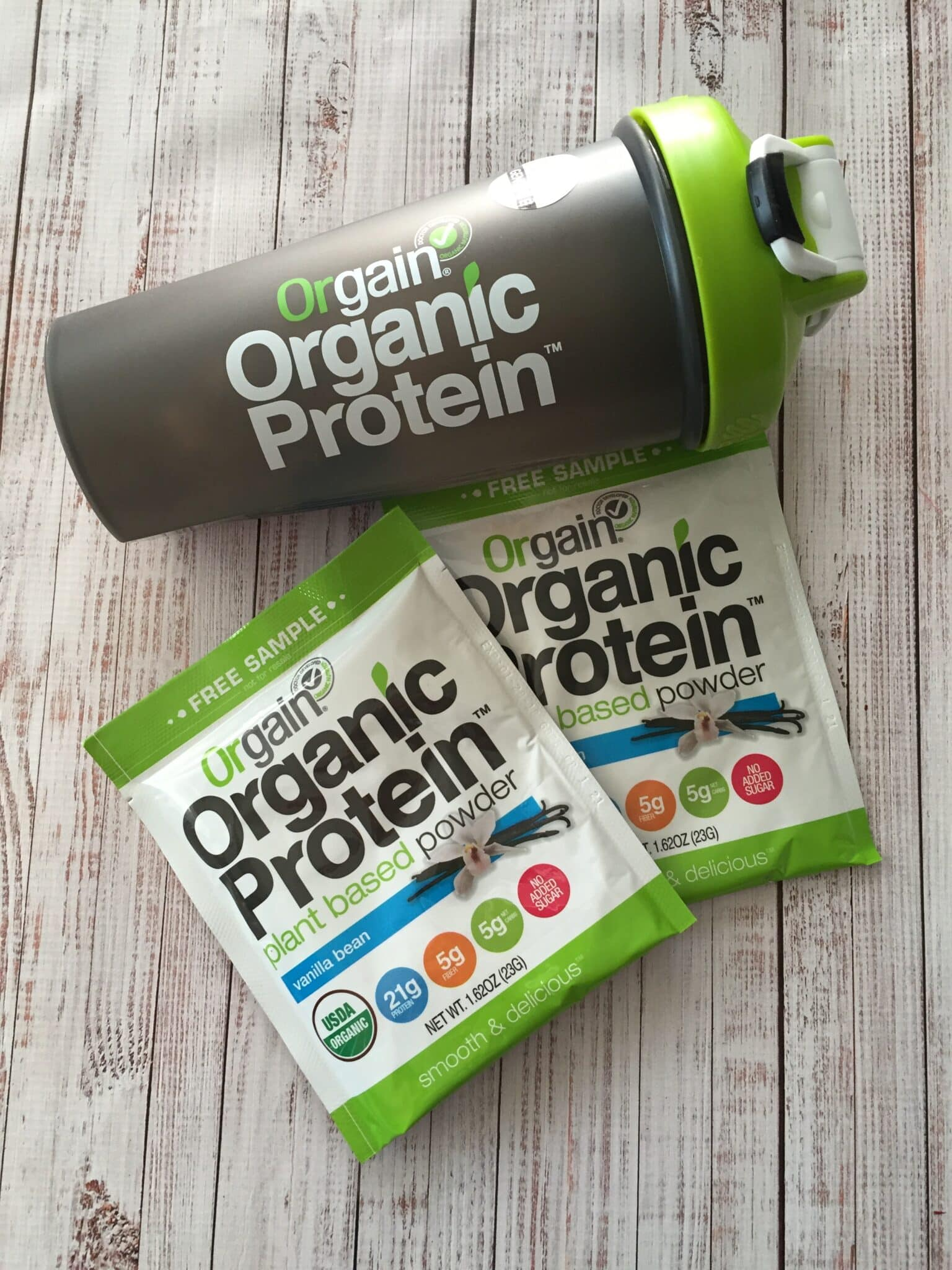 orgain vegan protein powder