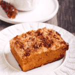 Upside Down Pumpkin Coffee Crumb Cake