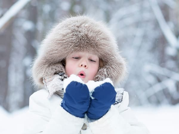 winter health tips for kids
