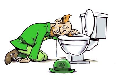 no hangover st patricks day