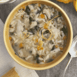 Lemon Orzo Soup