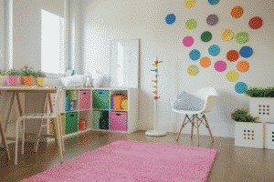 renovating a child's room