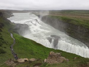 gulfoss iceland healthy voyager