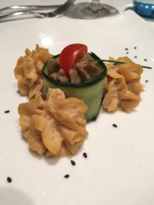 vegan meal on viking cruises