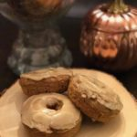 Maple Glazed Pumpkin Spice Donuts