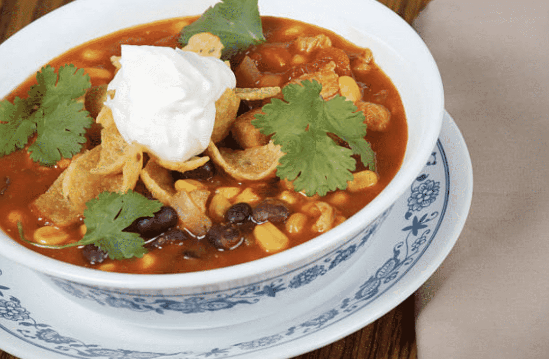 vegan taco soup recipe
