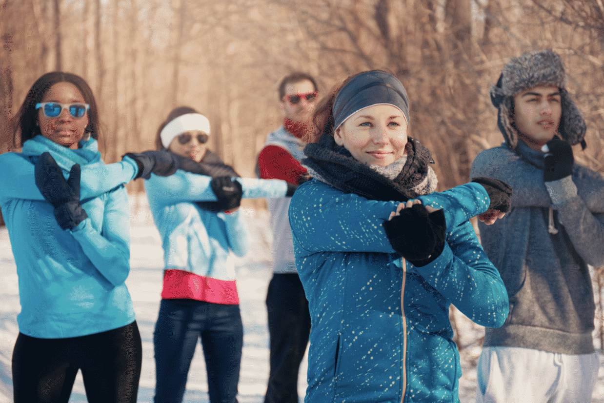 winter health fitness
