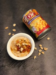 curry peanut butter hummus