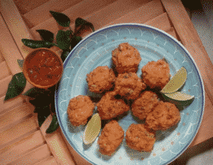 vegan fried guacamole