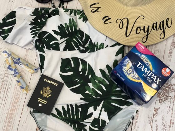 summer travel tampax