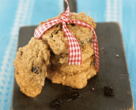 Quinoa Chocolate Chip Breakfast Cookies