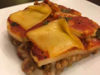 vegan potato lasagna recipe