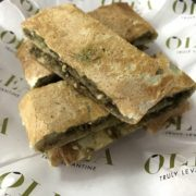 Zaatar Flatbread with Labneh