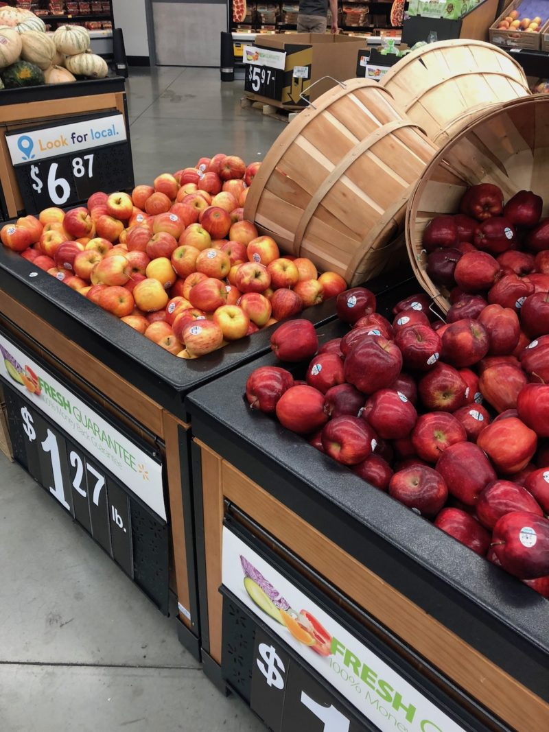 local apples walmart