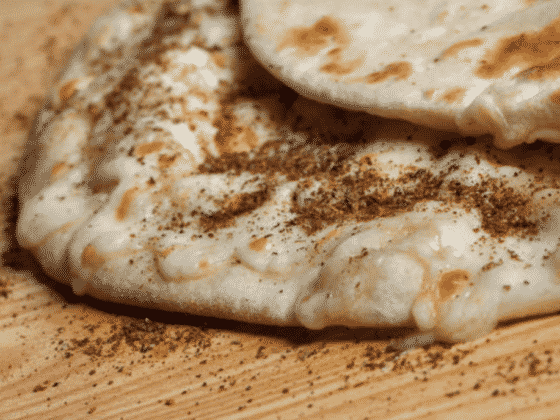 Protein Packed Coconut Roti