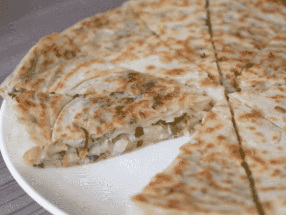 gluten free vegan scallion pancake recipe