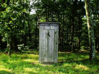 outdoor toilet basics