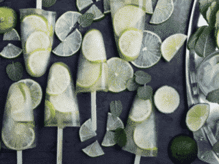 vegan gin and tonic popsicle recipe