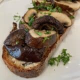 Savory Mushroom Toast with the Revolution Cooking R180 High-Speed Smart Toaster
