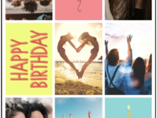 How to Make an Amazing Birthday Photo Collage for Your Awesome Friend