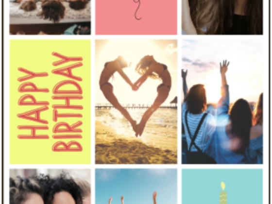 How to Make an Amazing Birthday Photo Collage