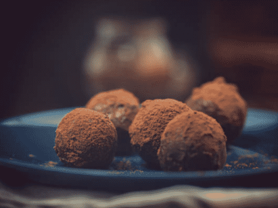 vegan pumpkin bon bons recipe