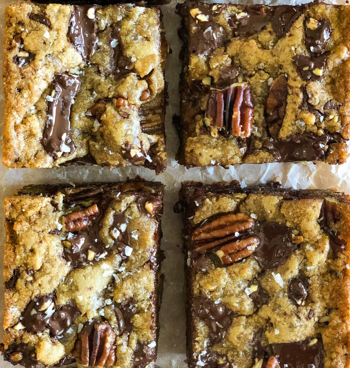 Pecan Pie Squares - The Healthy Voyager