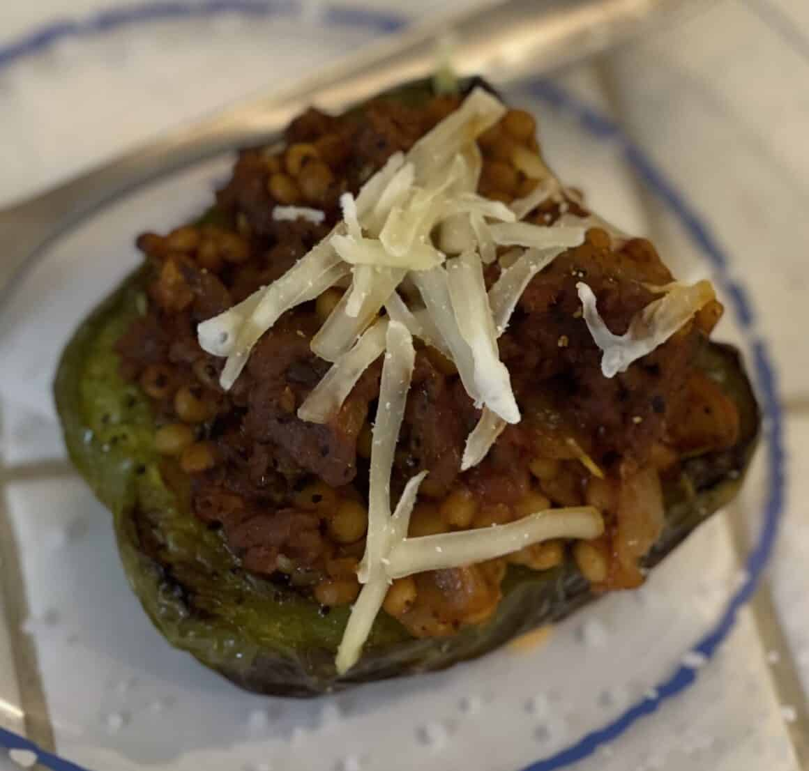 Stuffed Peppers - The Healthy Voyager