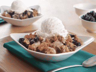 Protein Packed Berry Crumble